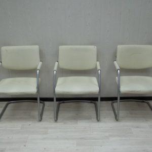 Кресло офисное на полозьях бу