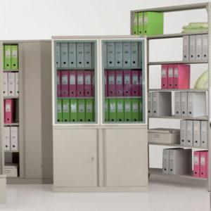Шкафы металлические и сейфы бу